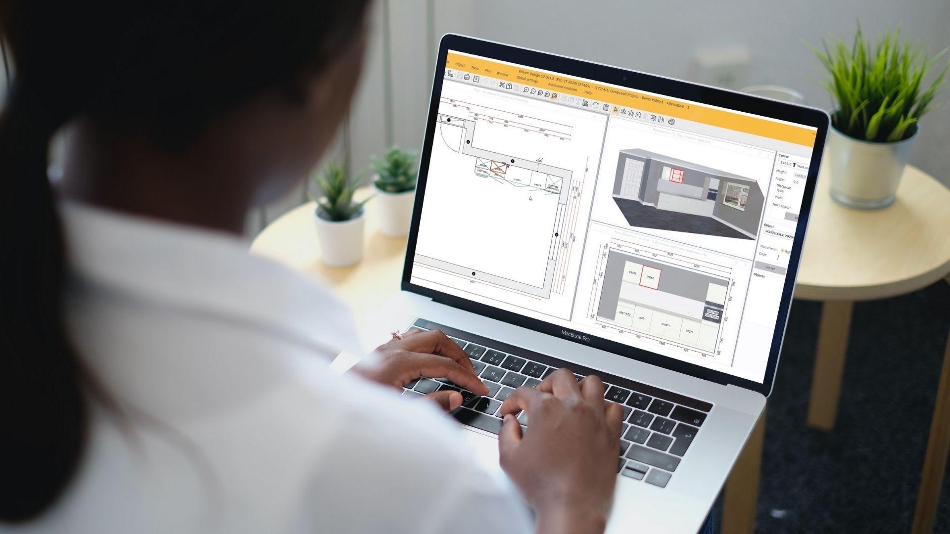 Configurateur plan 3D cuisine et salle de bains