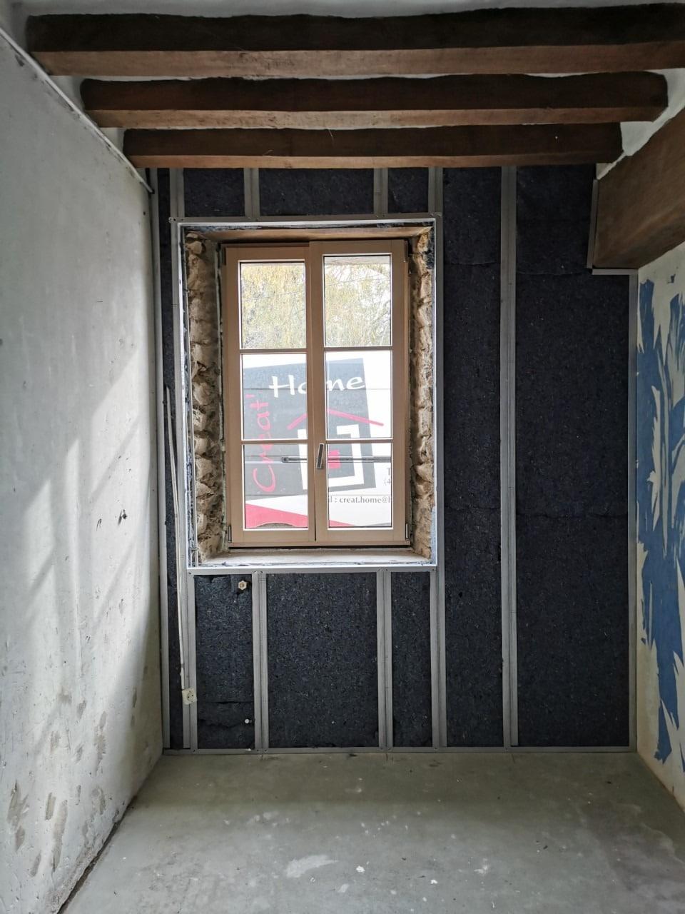 Isolation des murs par l'intérieur