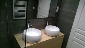 Meuble double vasque moderne