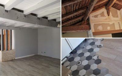 Rénovation intérieure : quelques chantiers