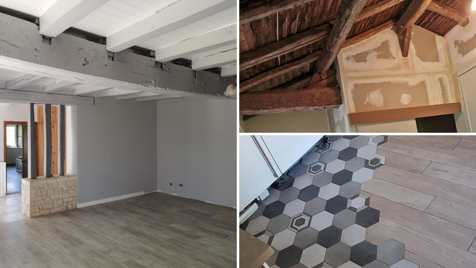 exemples de rénovation intérieure
