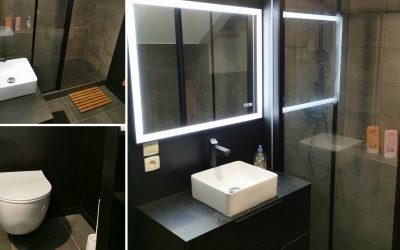 Transformation salle de bains en Anjou bleu
