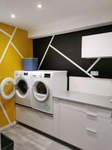 lingerie machine à laver décoration design