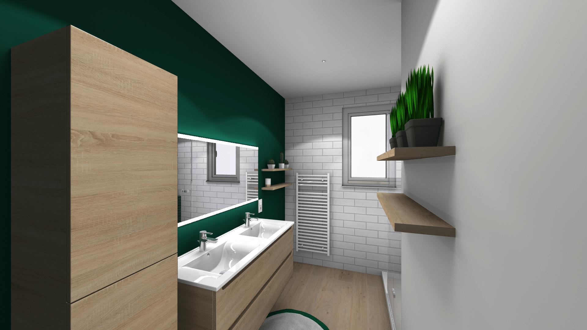 salle-de-bain-modern-verte-bois